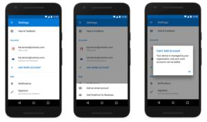 Microsoft outlook mobile no personal accounts