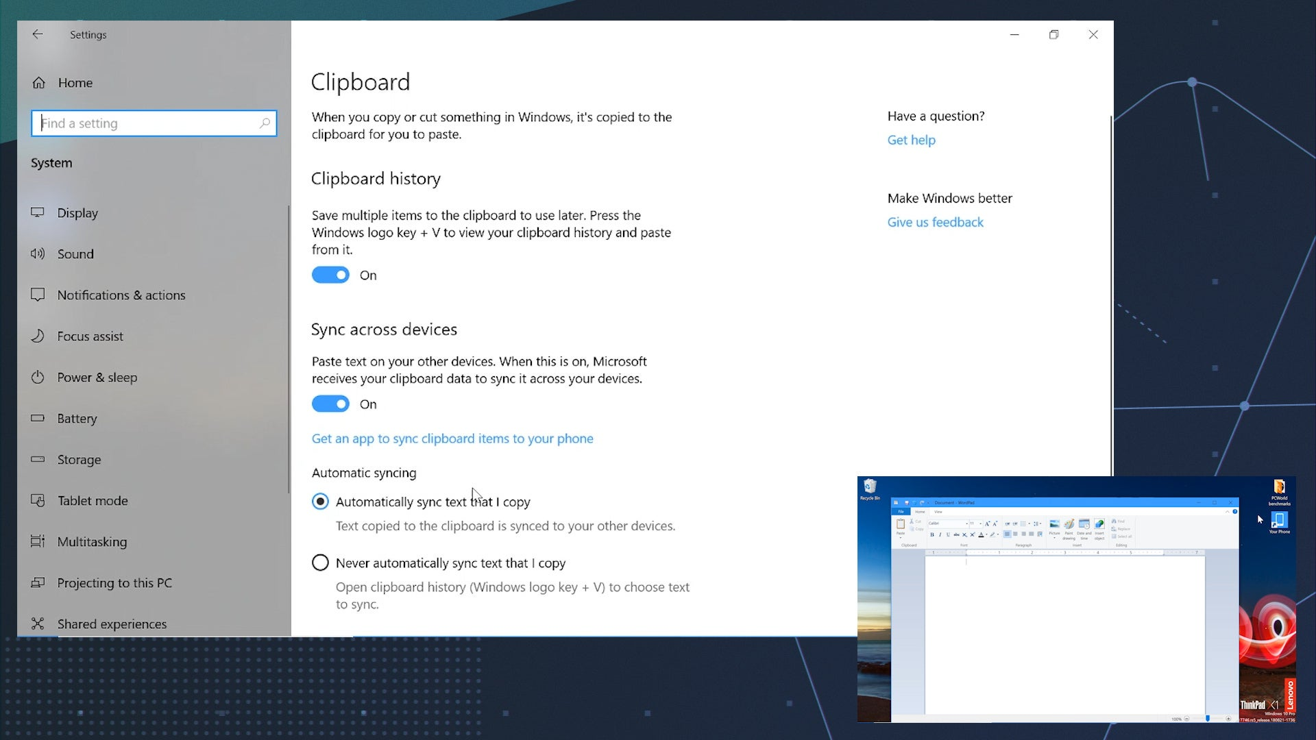 Transfer Files in Windows