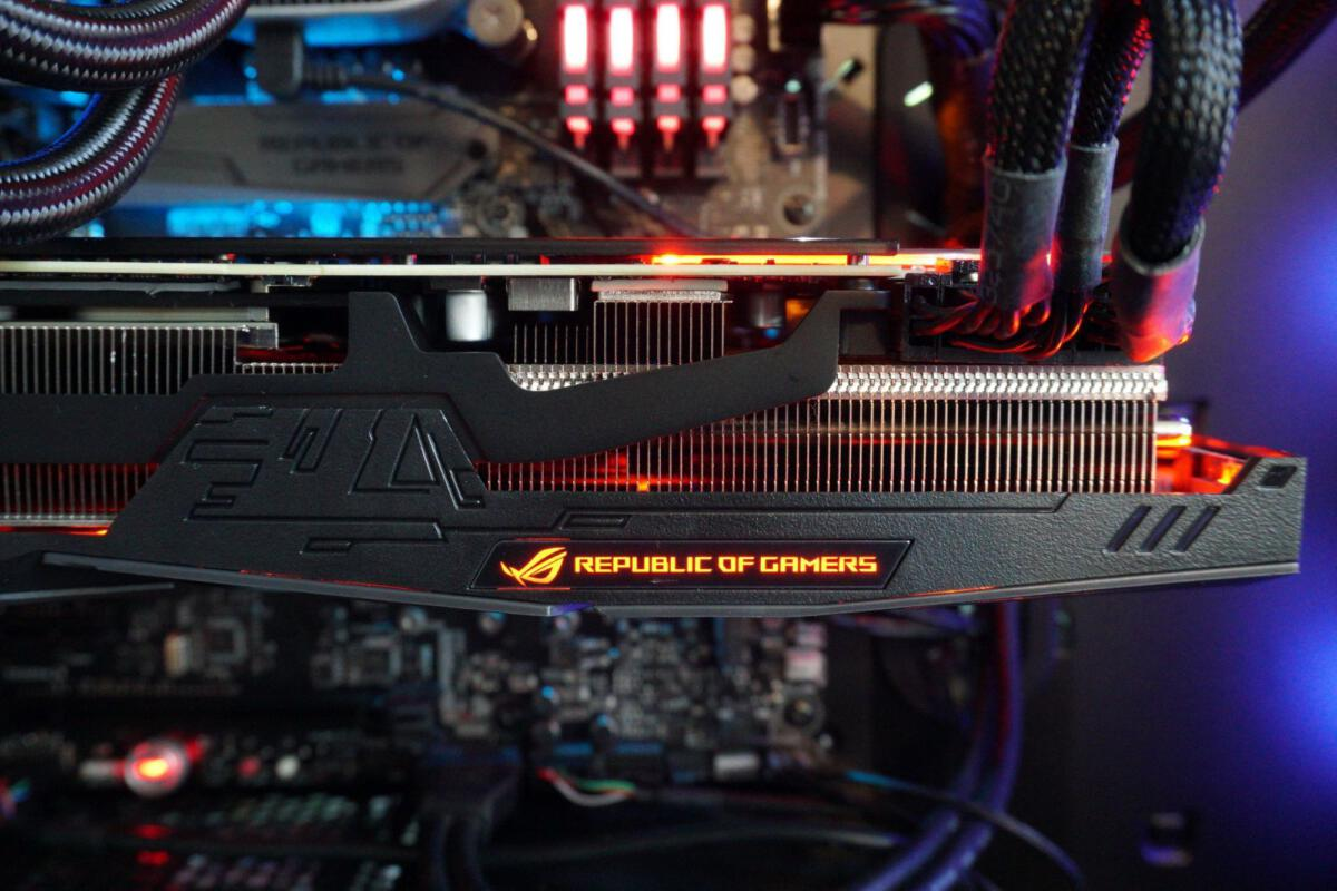pc fan diagram asus rog strix rtx 2080 review an ice cold whisper