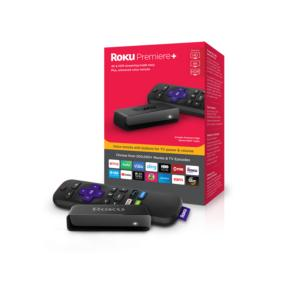 roku premiere plus 2018 packaging and device