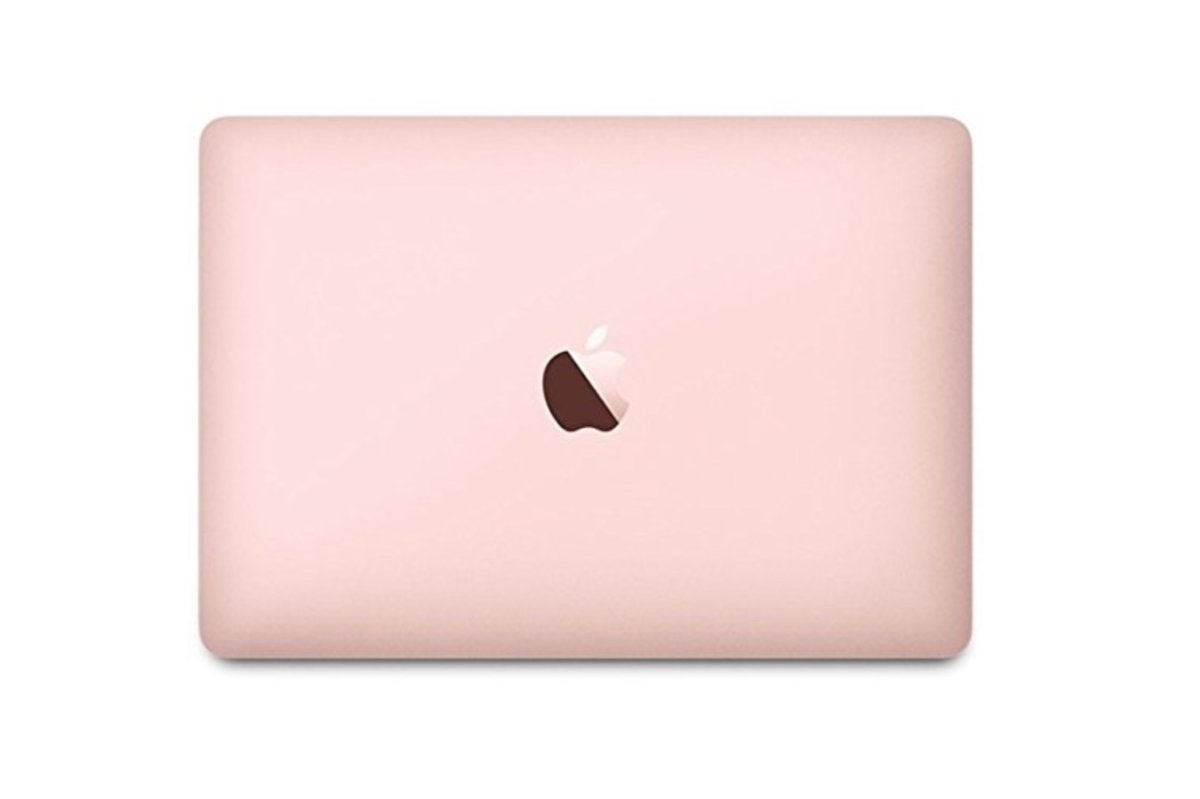 rose gold macbook 12 inch