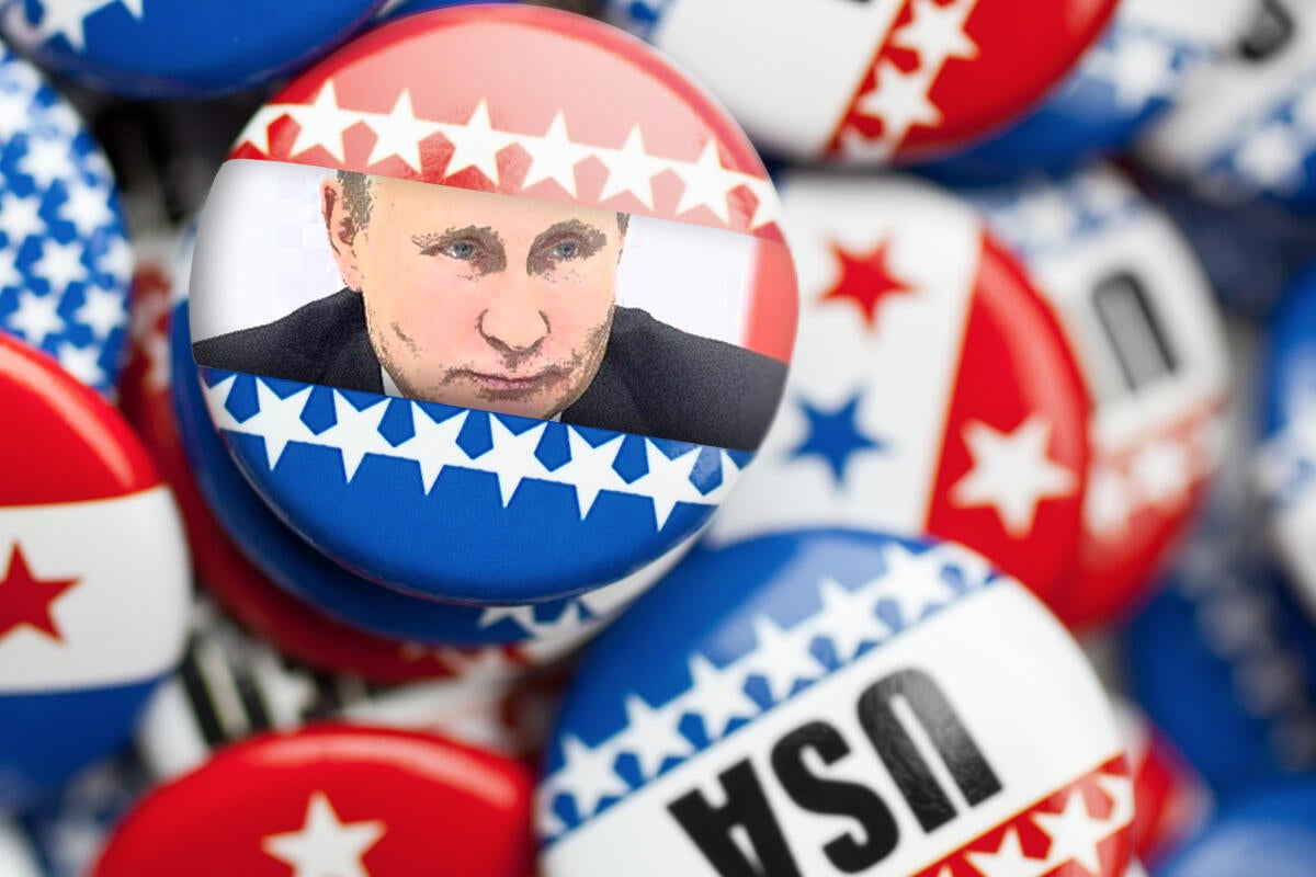 russian hacking us election  putin voting fraud hacked