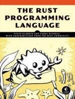 rust programming language book cover