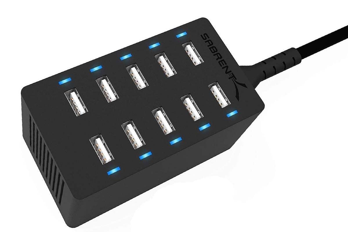 sabrent 10 port usb charger