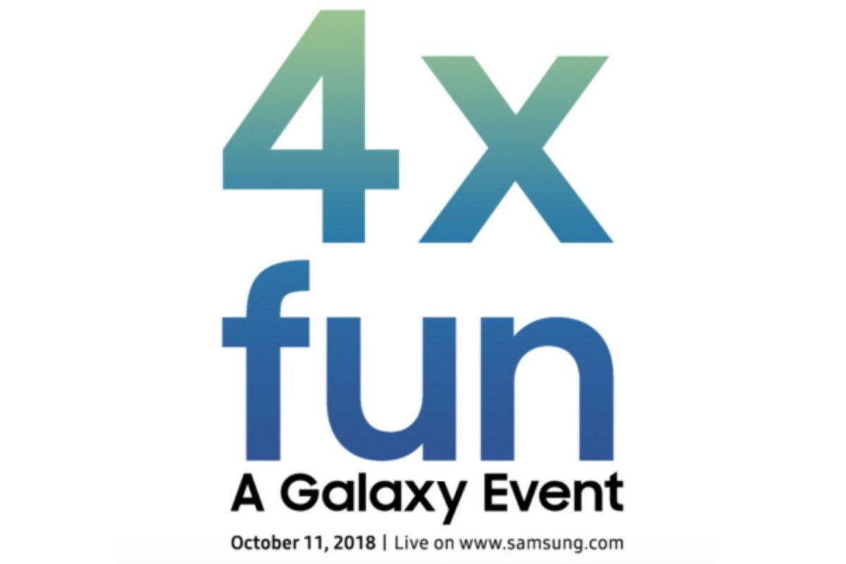samsung 4x galaxy event tease