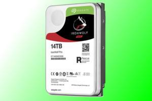 seagate ironwolf pro 14tb hard drive