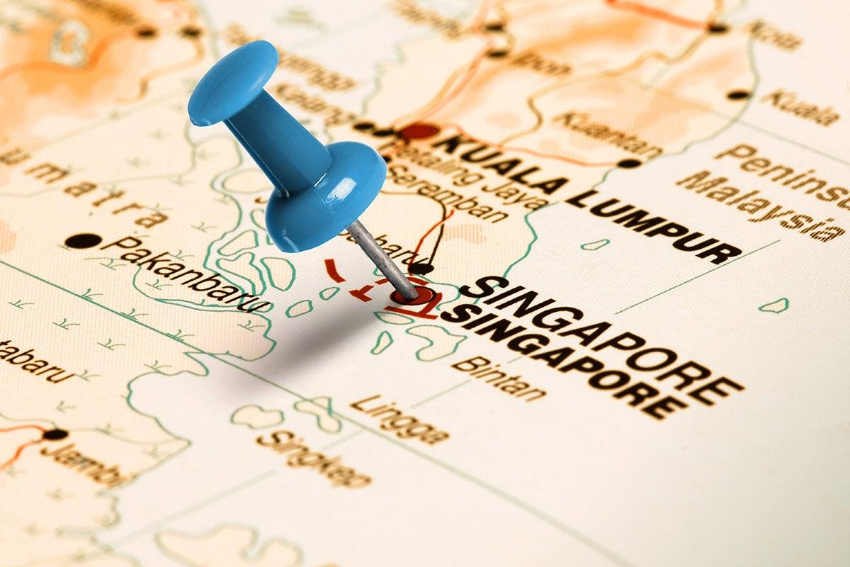 Map  >  Singapore
