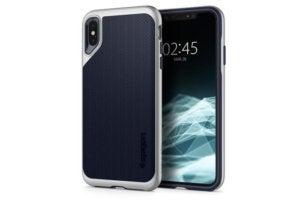 spigen neo hybrid iphone xs max satin silver