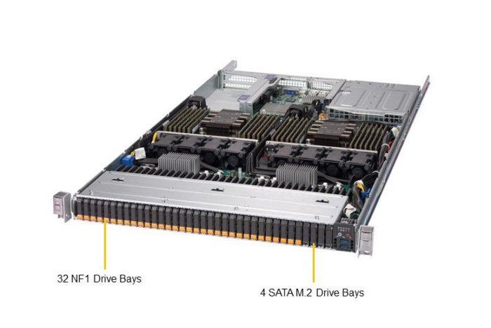 Supermicro unveils an insanely fast, insanely thin storage server