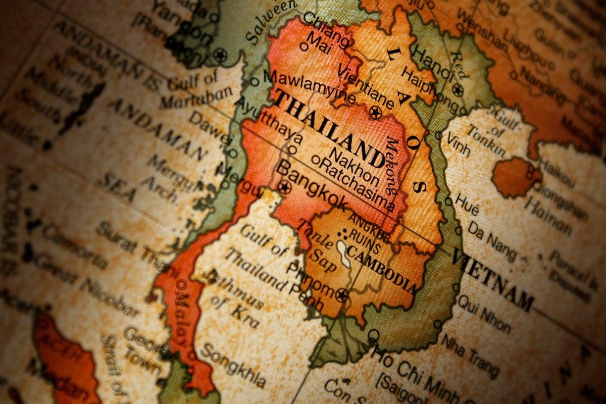 Map  >  Thailand
