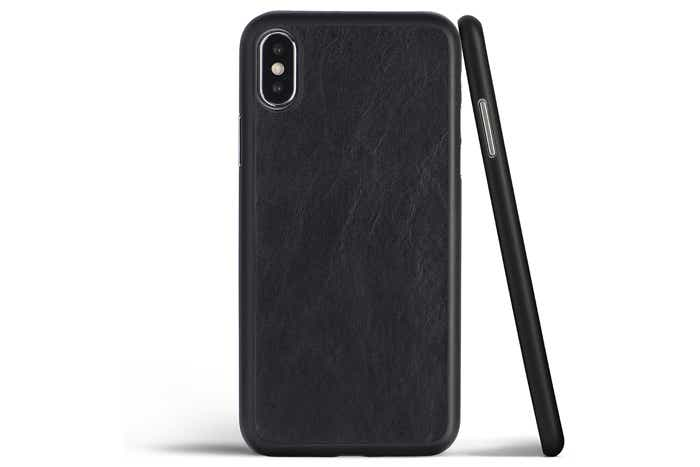Thin iPhone XS Max Leather Case