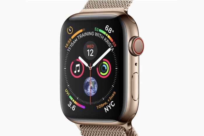 watch series4 gold