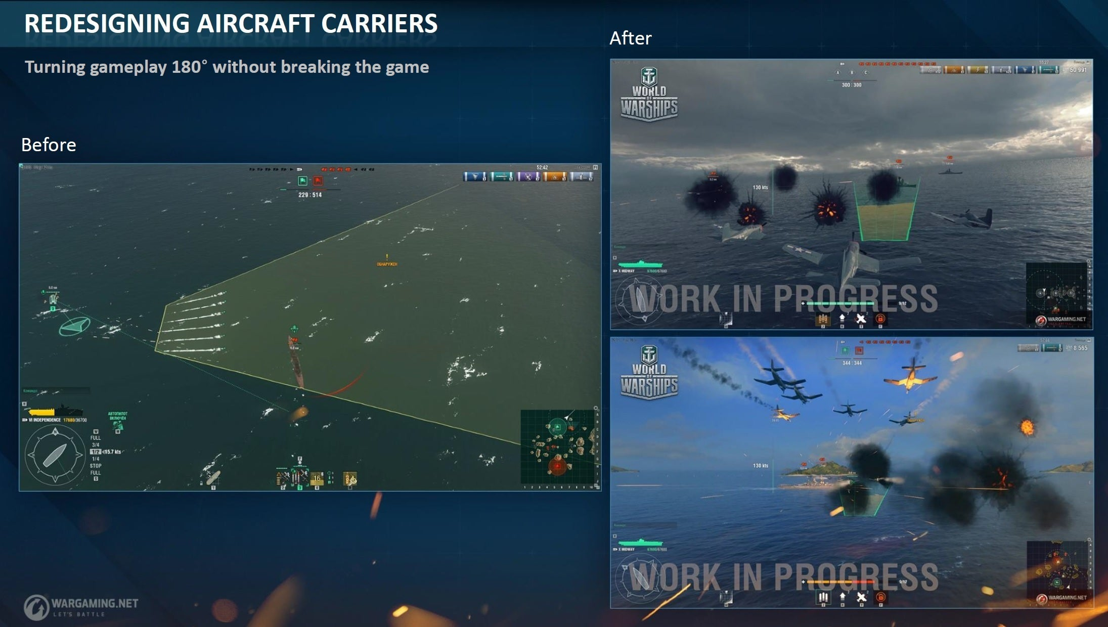 world of warships adds submarines to naval combat game