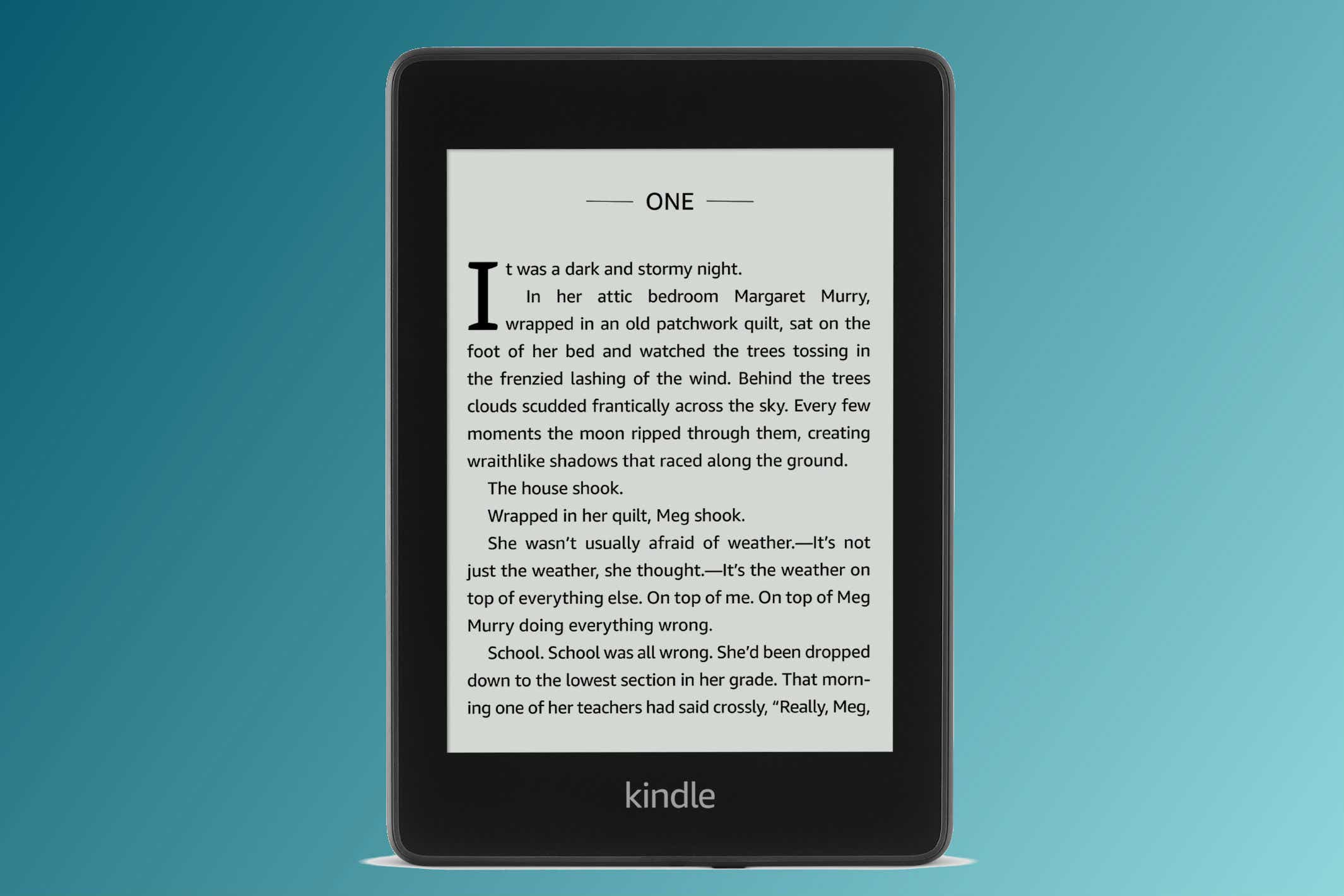Kindle Paperwhite (2018), Ad-Supported