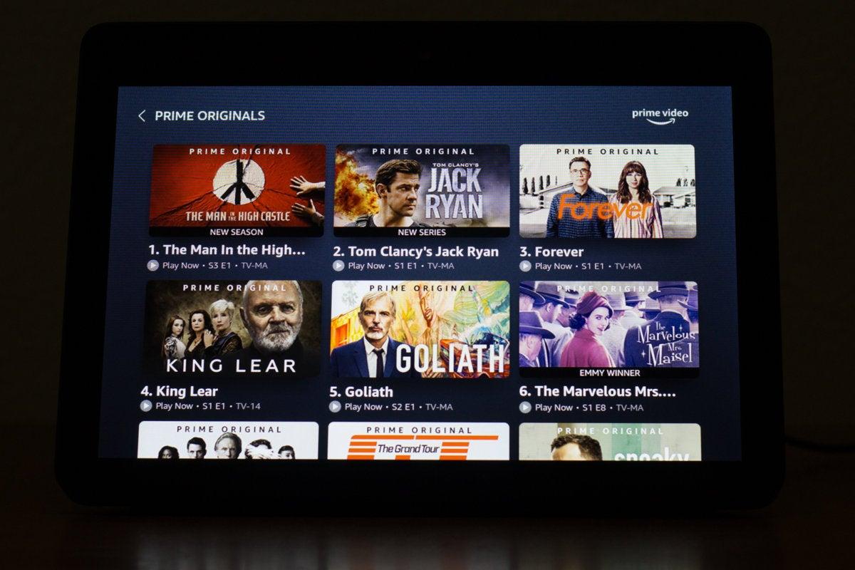 amazon prime video grid