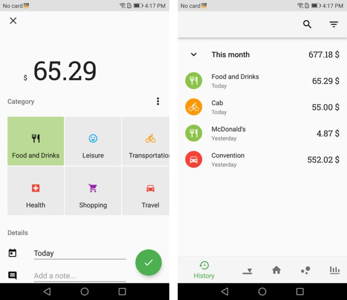 review 6 android apps that track your business expenses computerworld