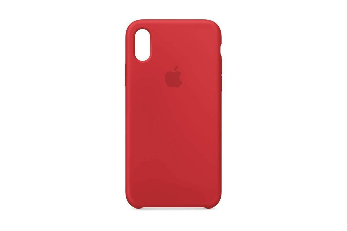 apple 39 s iphone x silicone cases get a rare discount on. Black Bedroom Furniture Sets. Home Design Ideas
