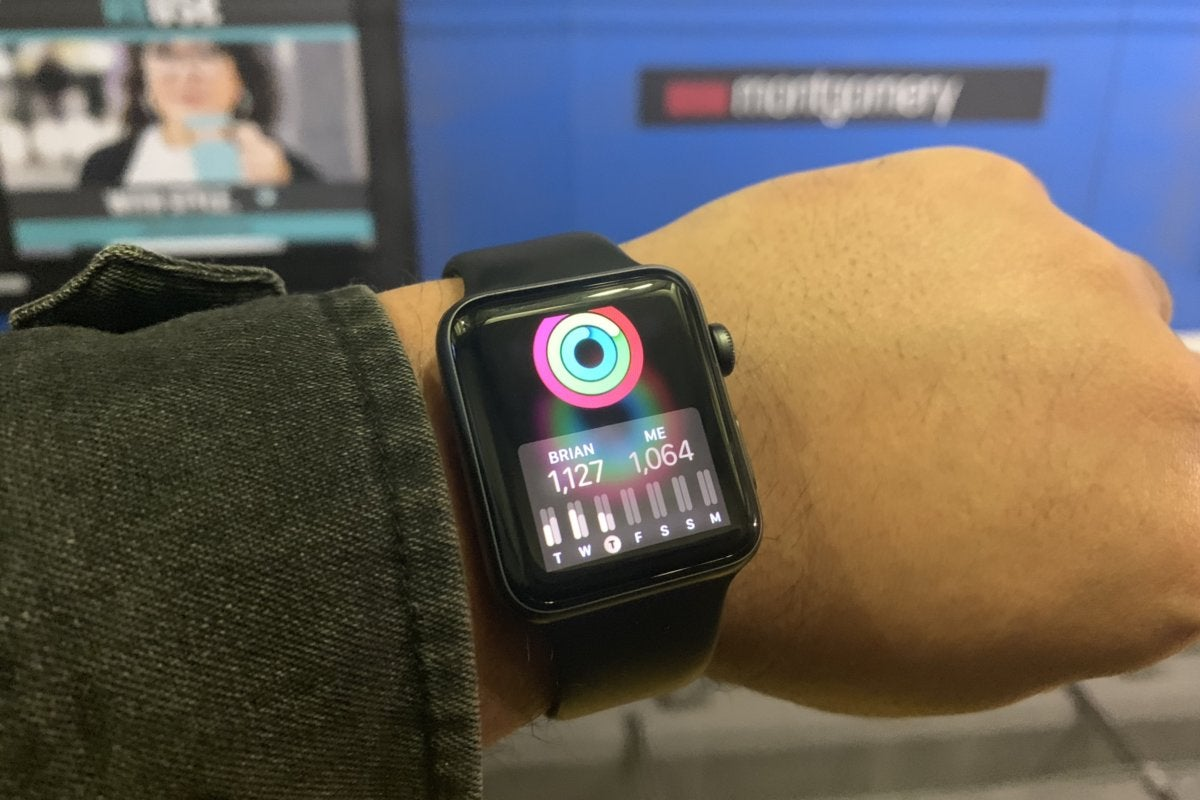apple watch competitions weight loss