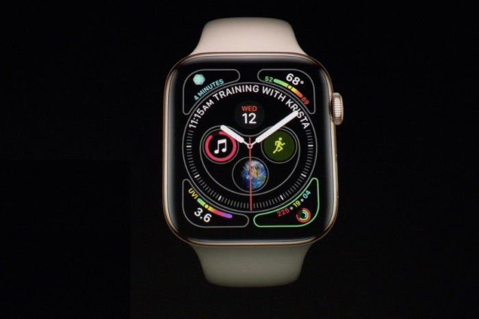 apple watch series 4 complications