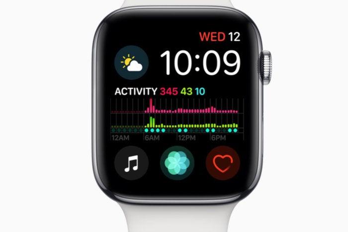 apple watch series 4 modular infograph