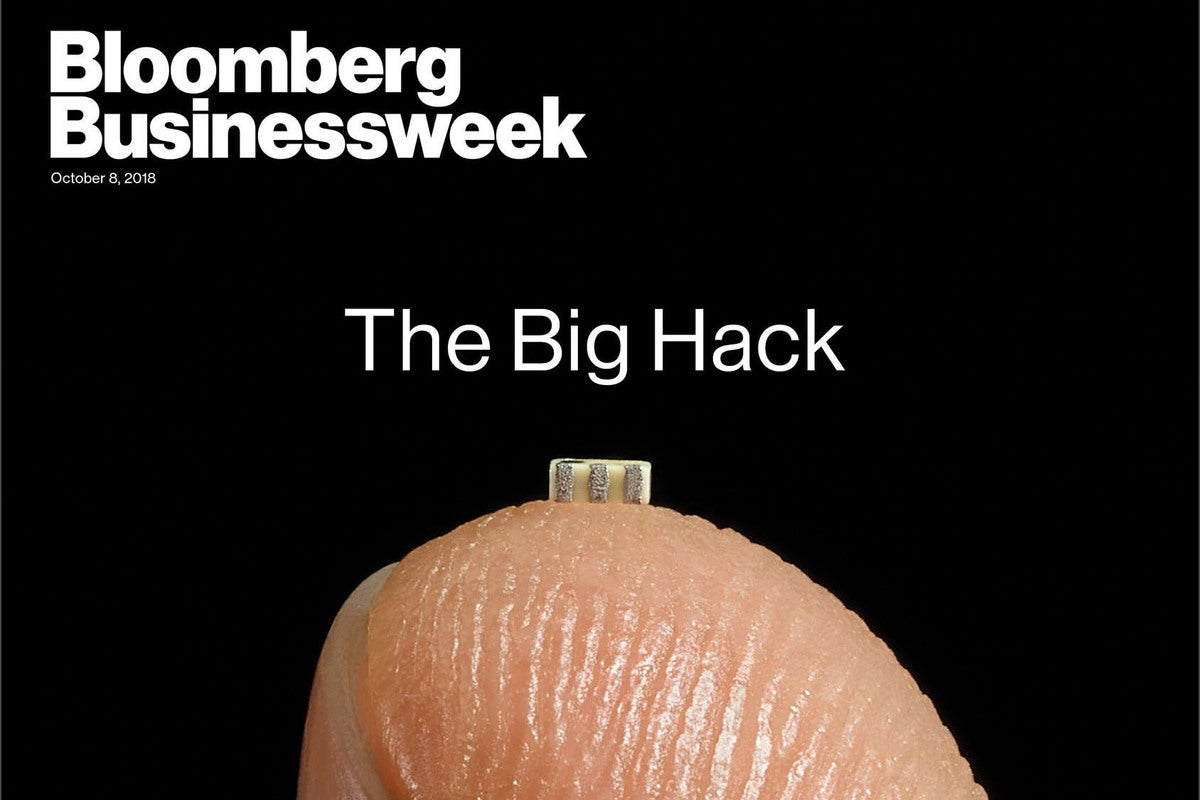 Apple strongly denies Bloomberg's Chinese hacking report, call for