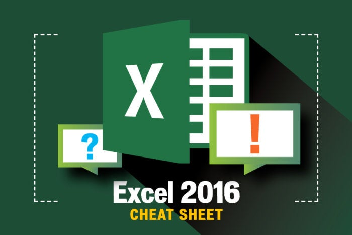 excel 2016 cheat sheet computerworld - 55 How Copy Excel Sheet Into Word Relevant