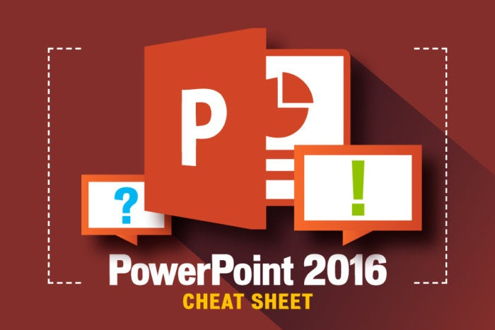 Powerpoint 2016 Cheat Sheet Computerworld