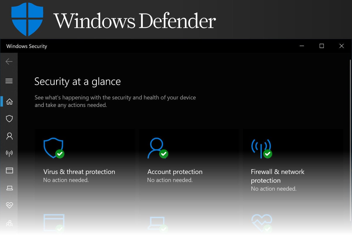Computerworld  >  Free Apps for Windows 10 > #12 - Windows Defender