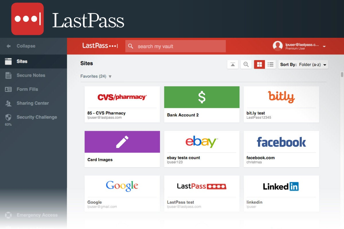 Computerworld  >  Free Apps for Windows 10 > #15 - LastPass