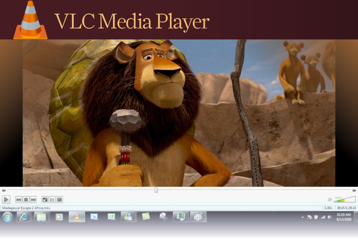 Computerworld  >  Free Apps for Windows 10 > #20 - VLC Media Player