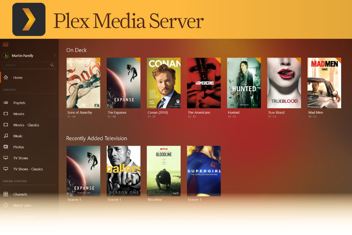 Computerworld  >  Free Apps for Windows 10 > #22 - Plex Media Server