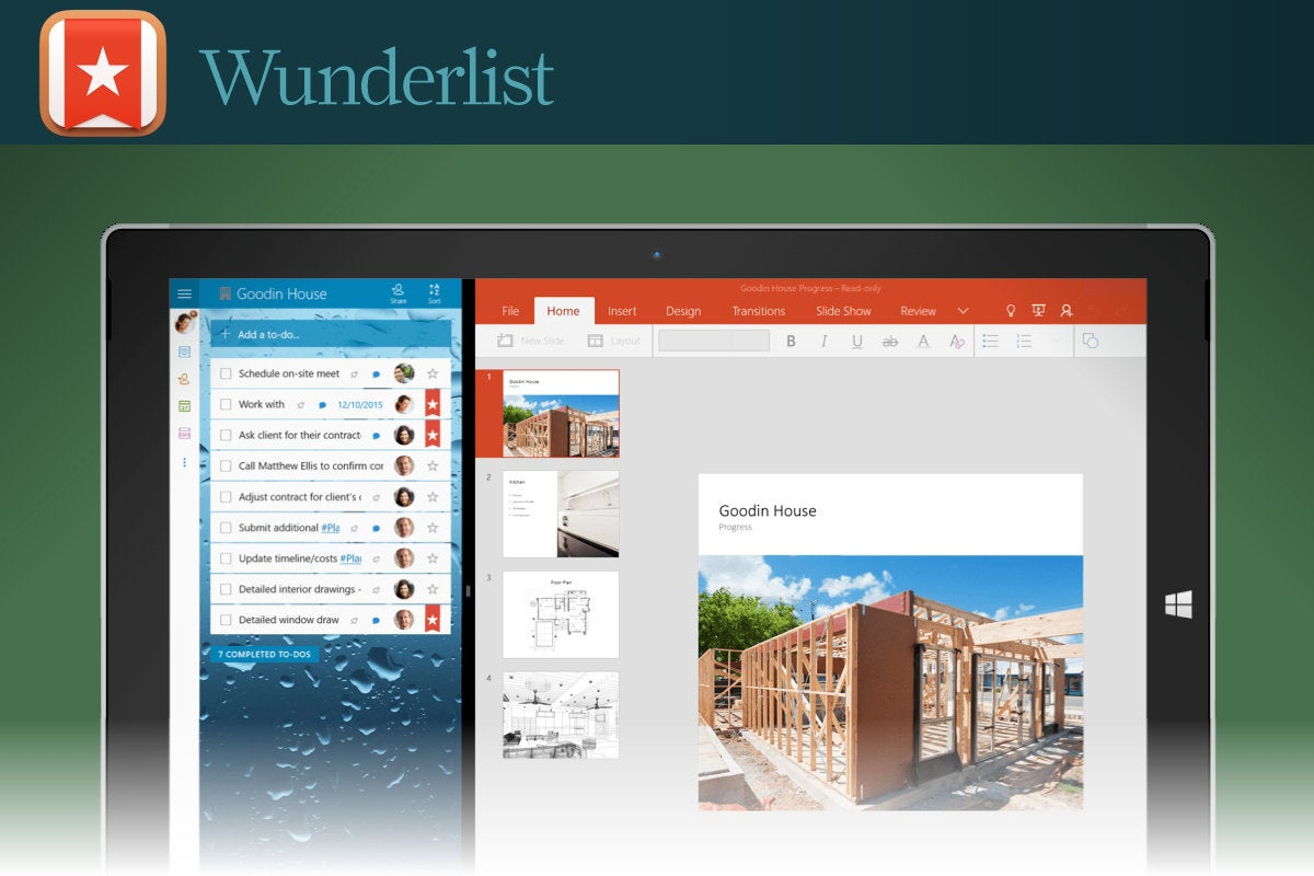 Computerworld  >  Free Apps for Windows 10 > #28 - Wunderlist
