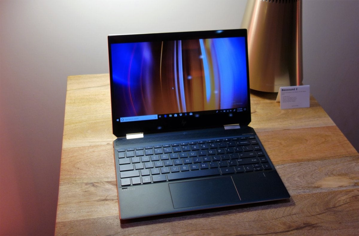 HP Spectre x360 13 (2018) hands on: 'Whiskey Lake' power