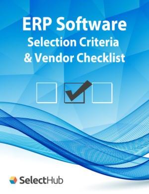 Top ERP Software Selection Criteria & Vendor Checklist
