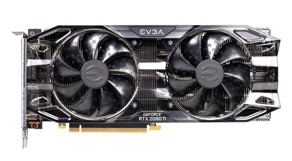evga geforce rtx 2080 ti black edition