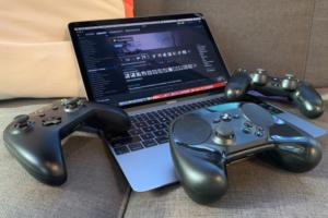 game controllers macbook