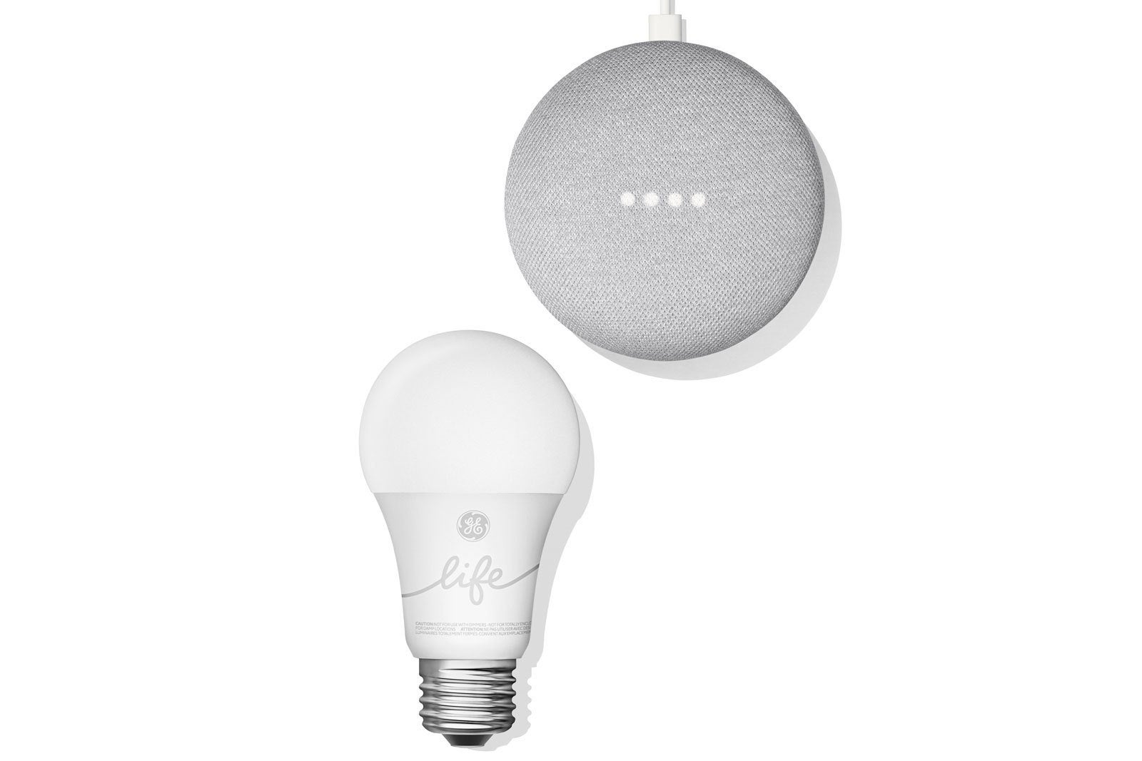 Ge Lightings New C By Smart Lighting Starter Kit Features The Fluorescent Lamp Lights Google Home Mini Techhive