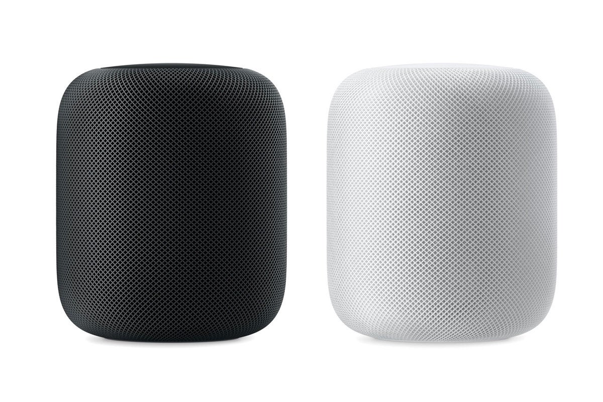 homepod back white