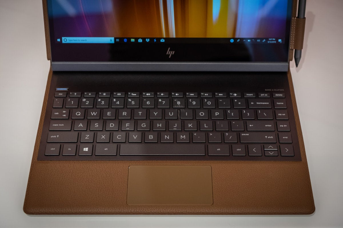 HP Spectre Folio review: This lightweight leather laptop is