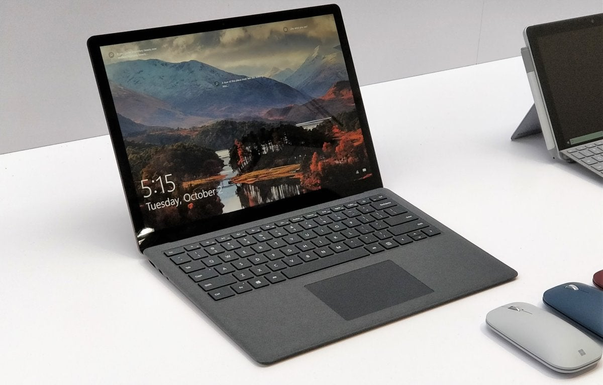 Hands on with the Microsoft Surface Laptop 2: Still a great