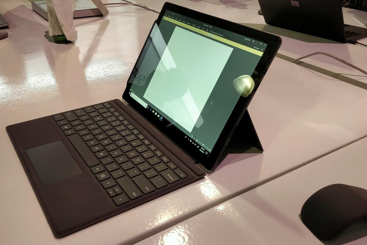 Hands on with Microsoft's Surface Pro 6: The new tablet is