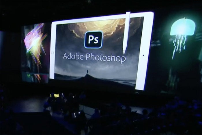 ipad pro photoshop max presentation