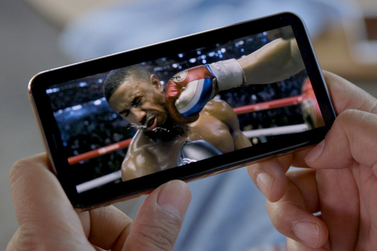 iphone xs max video