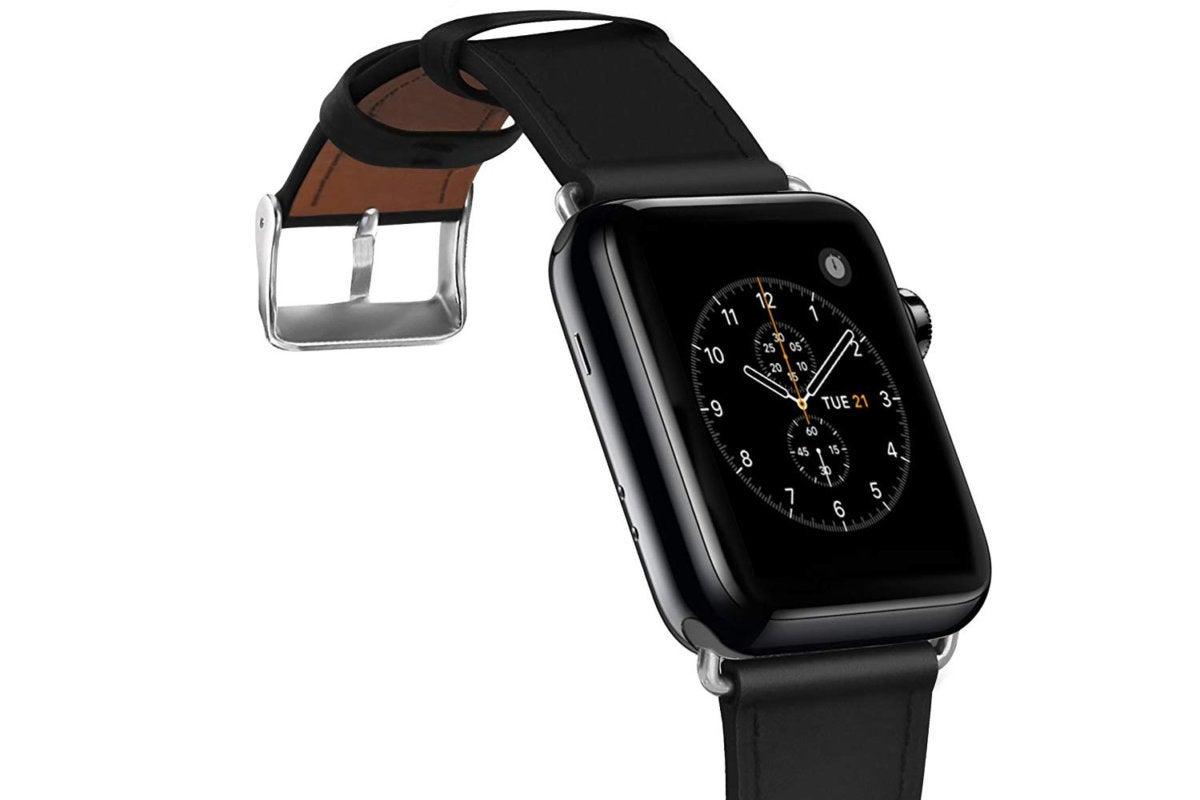 leather apple watch band covery