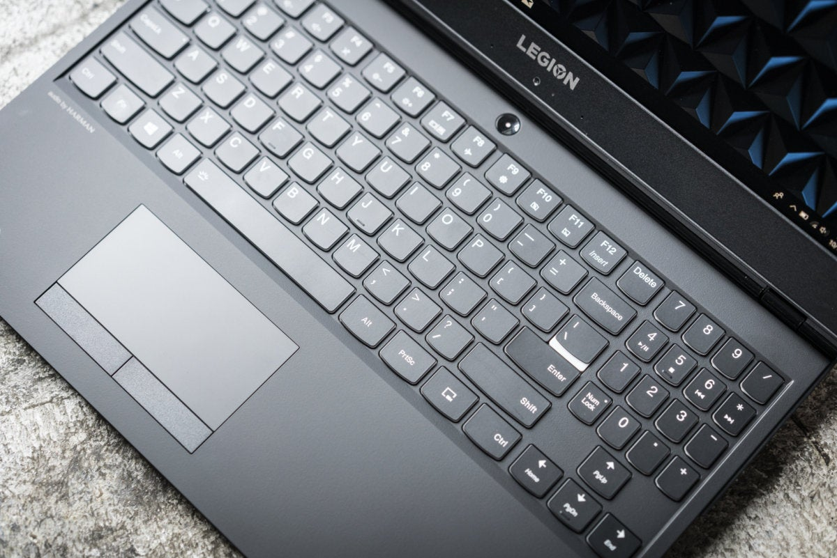 lenovo legion y530 keyboard detail