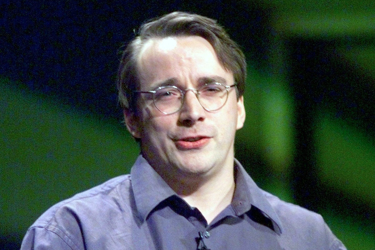 linus torvalds reuters mike blake