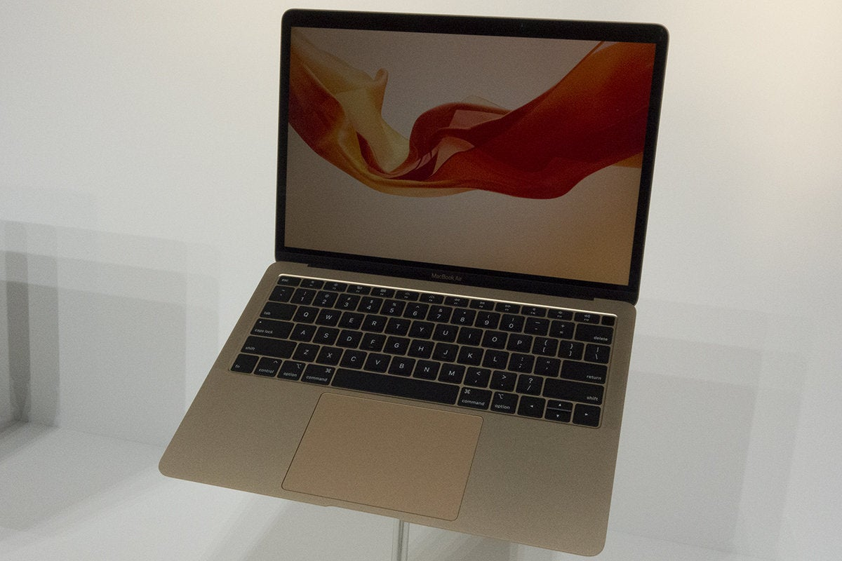 macbook air gold