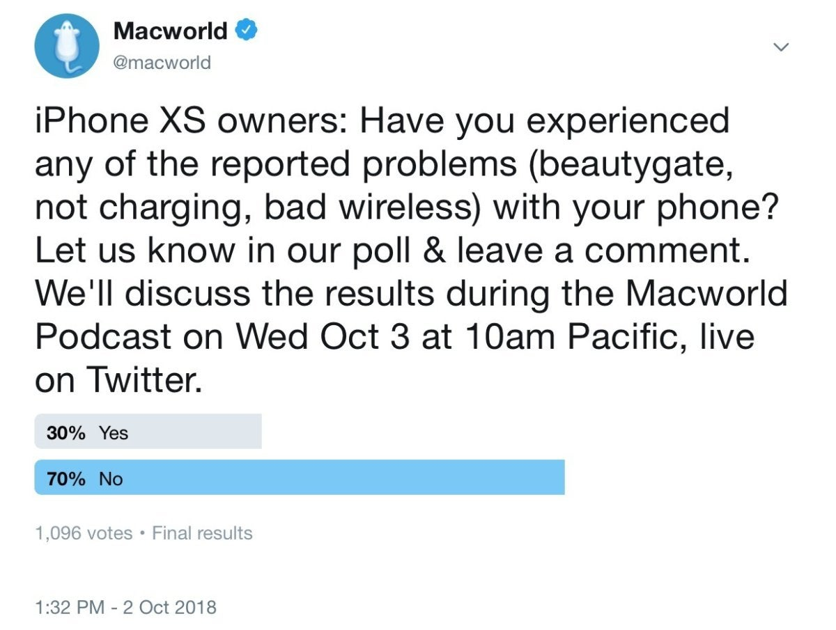 macworld podcast 100318 poll