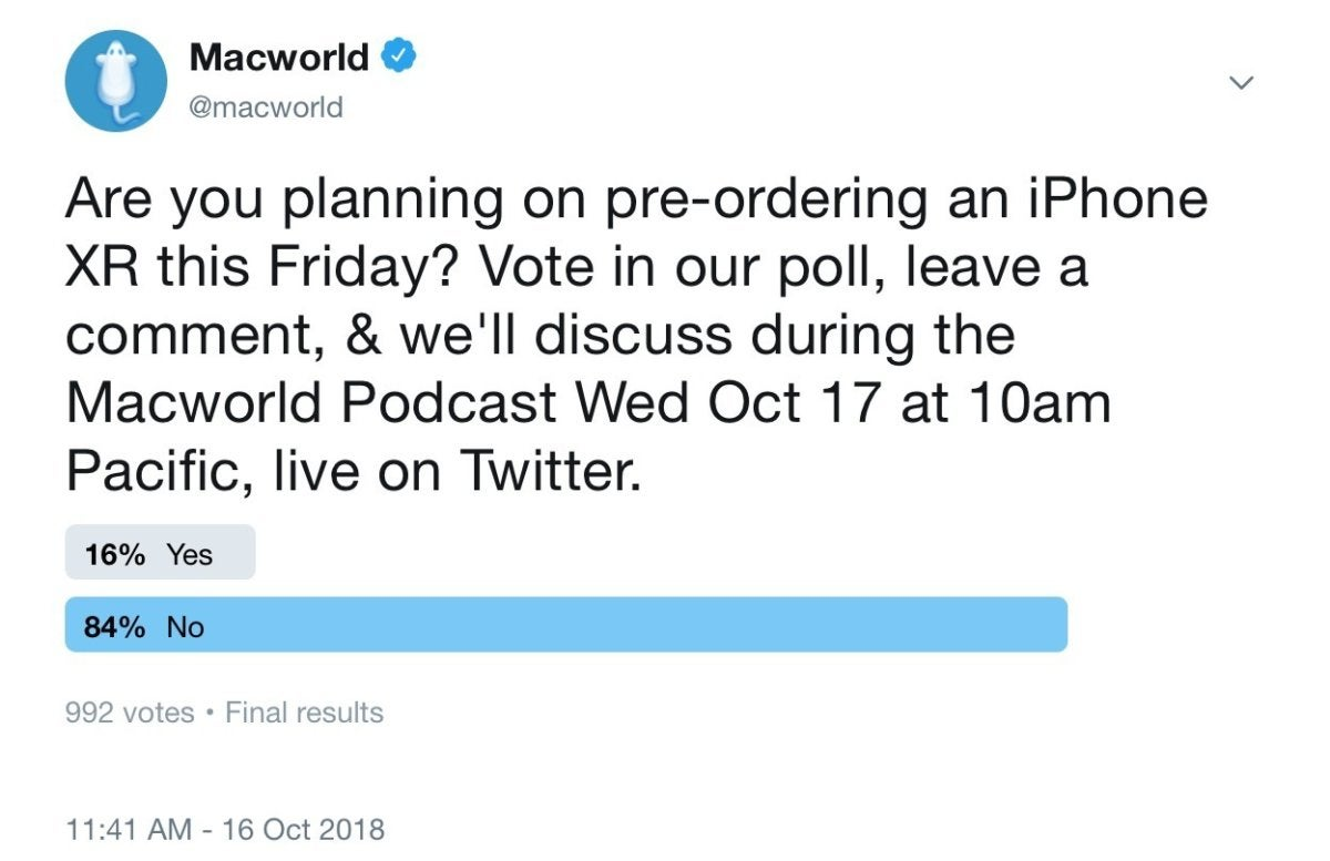 macworld podcast iphone xr preorder 101718