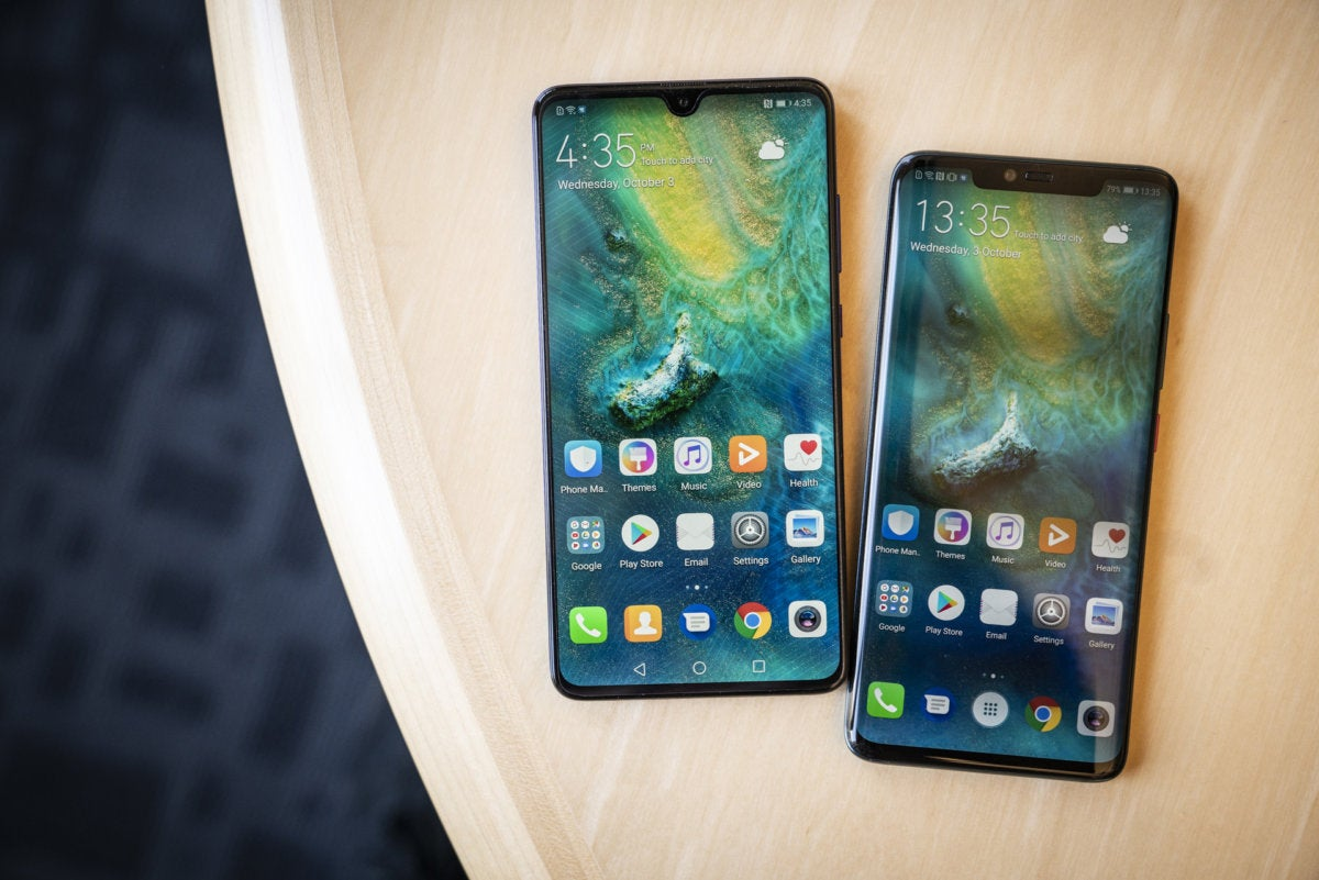 huawei mate 20 and mate 20 pro hands on  these phones do